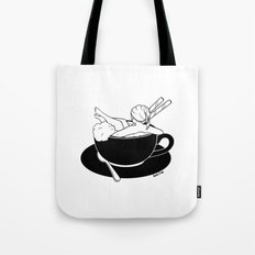 Cappuccino Bath Tote Bag