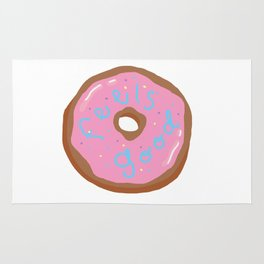 Feels good, donut? Rug