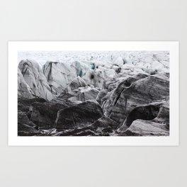 Vatnajokull Art Print