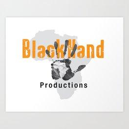 BlackHand Productions  Art Print