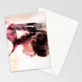 katniss ; if he wants me broken Stationery Cards