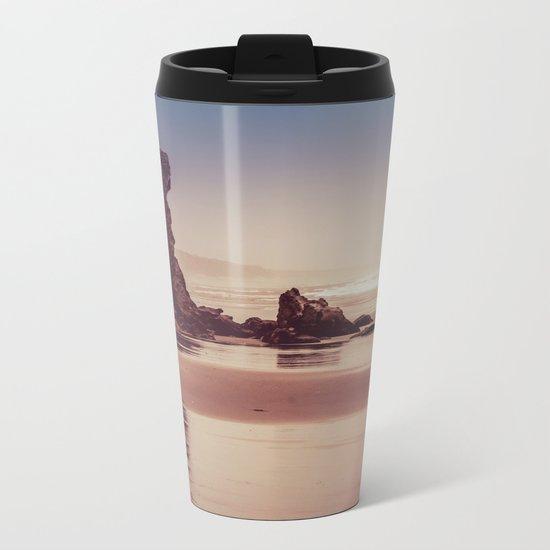 Ocean Adventure at Sunset Metal Travel Mug
