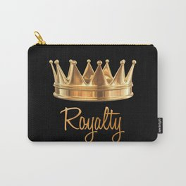 Royalty Gold Crown Carry-All Pouch