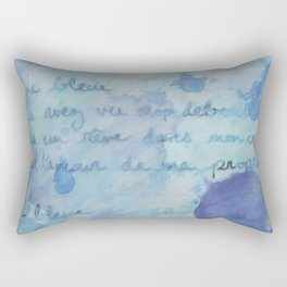 Lune Bleue No. 2 Rectangular Pillow