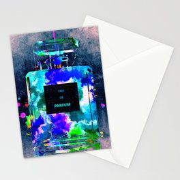 Perfume Dark Grunge Stationery Cards