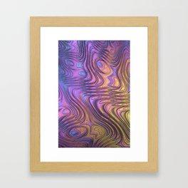 Frax Fractal Framed Art Print