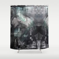 scream Shower Curtains featuring Scream by Lil'h