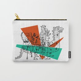 Adjacent Fourmula Carry-All Pouch