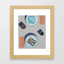 Lunch Framed Art Print