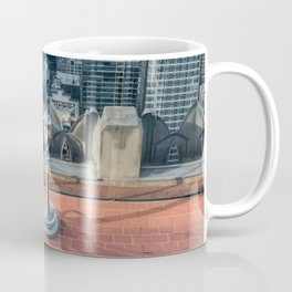 Coin operate viewfinder at Rockefeller Center Coffee Mug