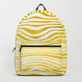 Rippled Gold Backpack