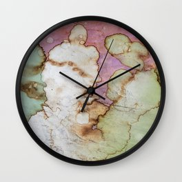 Fauxquarelle 3 Wall Clock
