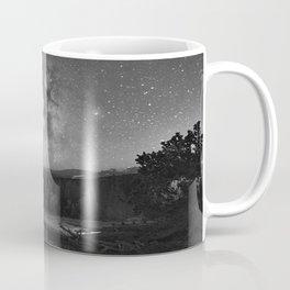Under Starry Sky At Night Coffee Mug