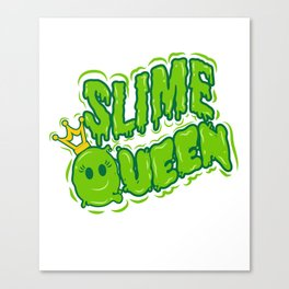 Slime Queen Canvas Print