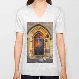 St Andrews Church, Aysgarth Unisex V-Neck