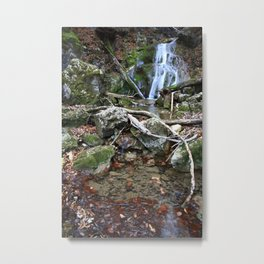 Waterfall Fischbach Germany 2014 Metal Print