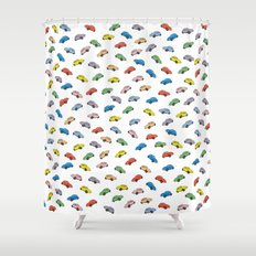 Beetles Shower Curtain