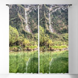 Earthy Mountain Stream // Hiking Bliss Incredible Views of the Beautiful Mountainscape Blackout Curtain
