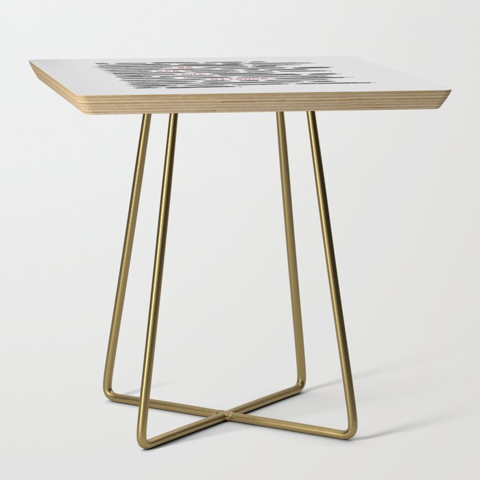 We are our silence Side Table