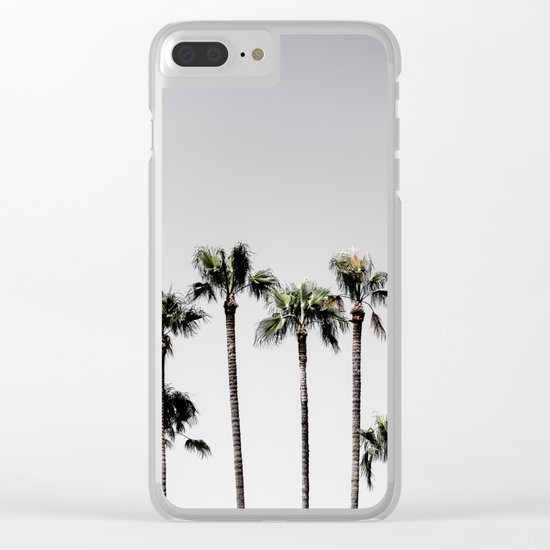 Palm Trees 5 Clear iPhone Case