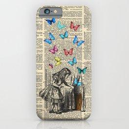 Alice In Wonderland - Let The Adventure Begin iPhone Case