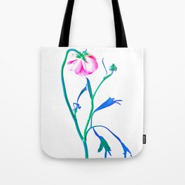 One Flower - Study 3. Back Tote Bag