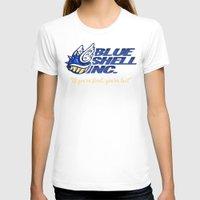 mario kart T-shirts featuring Mario Kart: Blue Shell Inc (no distressing) by Macaluso