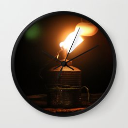 Thai traditional lantern Wall Clock