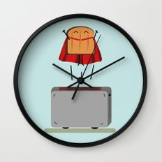 Supertoast! Wall Clock
