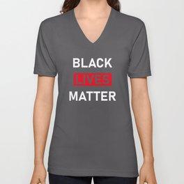 Black Lives Matter, Anti Racism, Racism, Police Unisex V-Neck