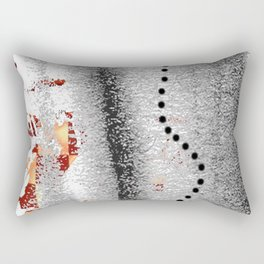 Line of points Rectangular Pillow