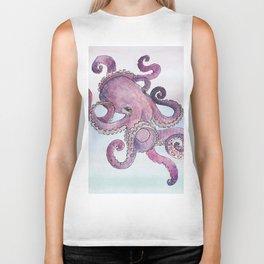 Sea Octopus Biker Tank