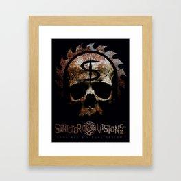 Sinister Visions Promo 2015 Framed Art Print