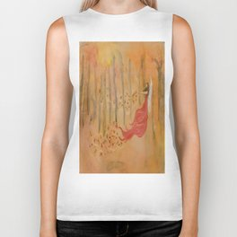 Autumn Fairy Biker Tank
