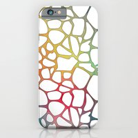 Abstract Net Slim Case iPhone 6s
