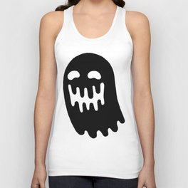 Dripping Ghost Unisex Tank Top
