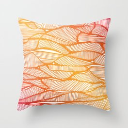 daiquiri frozen Throw Pillow