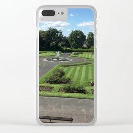 European Courtyeard Clear iPhone Case