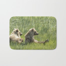 Unbearably Cute - Bear Cubs, No. 5 Bath Mat