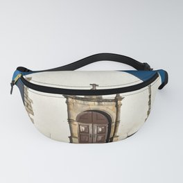 Church of Misericordia. Portugal Fanny Pack