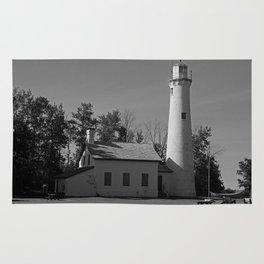 Sturgeon Lighthouse Rug