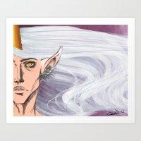 God of Magic Art Print