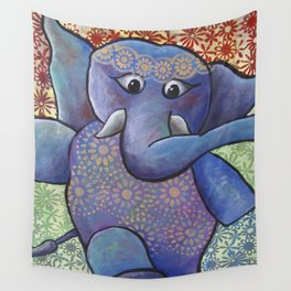 Dancing Elephant Wall Tapestry
