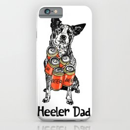 Heller Dad Beer Lover Father's Day Shirt iPhone Case