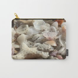Tideline Beach Shells Carry-All Pouch