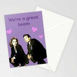 We're a Great Team Stationery Cards