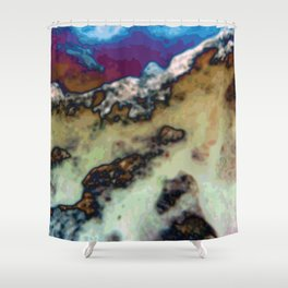 Capped Shower Curtain