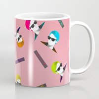 persona Mugs featuring Bergman - Talk to Me by Ia Re