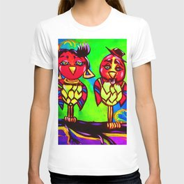 Love Birds in Style T-shirt