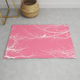 The Lonely Bird in the Tree VI Rug